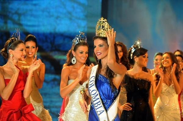 Мисс Колумбия-2009. Фото: RODRIGO ARANGUA/AFP/Getty Images
