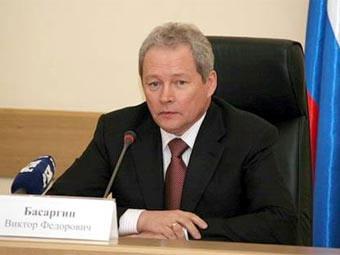 глава Минрегиона Виктор Басаргин. Фото с сайта lenta.ru