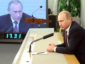 Владимир Путин. Фото с premier.gov.ru