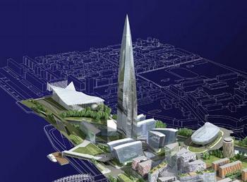 В Петербурге Комиссия по застройке города разрешила строительство небоскреба. Фото с archi.ru