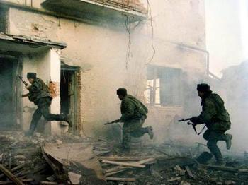 В Чечне два террориста-смертника взорвали себя. Ранены 3 сотрудника милиции и 3 местных жителя. Фото с baike.baidu.com