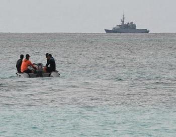В Татарском проливе пропал военный самолет. Фото: TONY KARUMBA/AFP/Getty Images