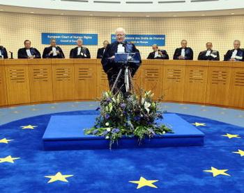 Рассмотрит ли Страсбургский суд очередное российское дело? Фото: PATRICK HERTZOG/AFP/Getty Images