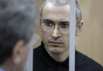Михаил Ходорковский в здании суда. Фото: Oleg Nikishin/Getty Images