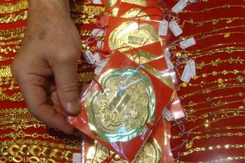 Алтын подозревают в контрабанде ювелирных изделий. Фото: PATRICK LIN/AFP/Getty Images