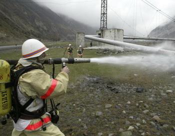 Боевики подорвали газопровод, оставив Махачкалу без газа . Фото: KAZBEK BASAYEV /AFP /Getty Images