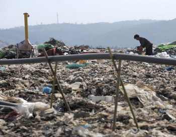Валентина Матвиенко прислушалась к экологам в вопросах переработки отходов. Фото: LIU JIN/AFP/Getty Images