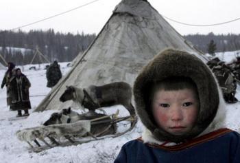 Разработка местораждений все быстрее проникает в уникальныые земли Ямала. Фото: TATYANA MAKEYEVA/AFP/Getty Images