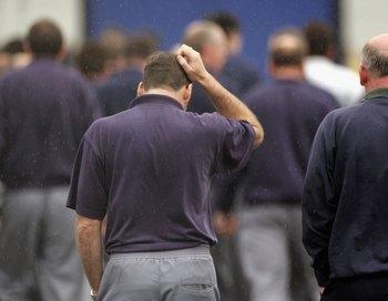 Широко обсуждавшееся в прессе сокращение 5 000 работников завода еще не произошло - оно состоится лишь 14 декабря. Фото: Scott Barbour/Getty Images