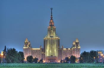 Московский Госудврственный Университет (главное здание). Фото: с сайта flickr.com