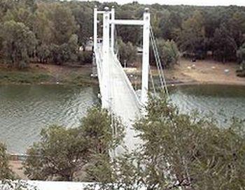 Оренбург. Мост через Урал. Фото  с сайта  dic.academic.ru