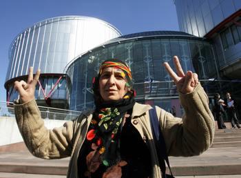 Европейский суд по правам человека. Фото: SEYLLOU/AFP/Getty Images