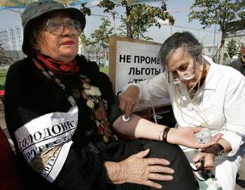Россияне высказали мнение об эффекте забастовок. Фото: Юрия KADOBNOV/AFP/Getty Images