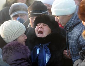 Число жертв трагедии в Перми достигло 141 человека. Фото: DMITRY KOSTYUKOV/AFP/Getty Images