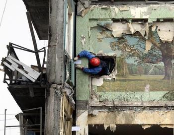 В Дзержинске взорвался бытовой газ. Фото: Владимира SMOLYAKOV/AFP/Getty Images