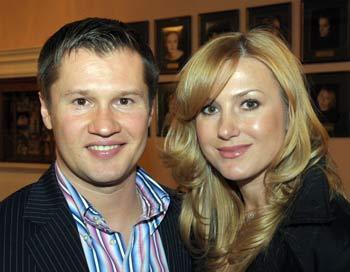 Алексей Немов с супругой. Фото: Николай Зуев