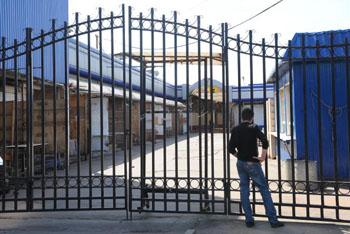 Черкизовский рынок закрыт. Фото: DMITRY KOSTYUKOV/AFP/Getty Images