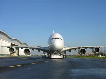 A380. Фото пресс-службы Airbus