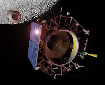 Лунный кратер Кабеус подвергнется бомбардировке ради поисков воды. Фото: NASA