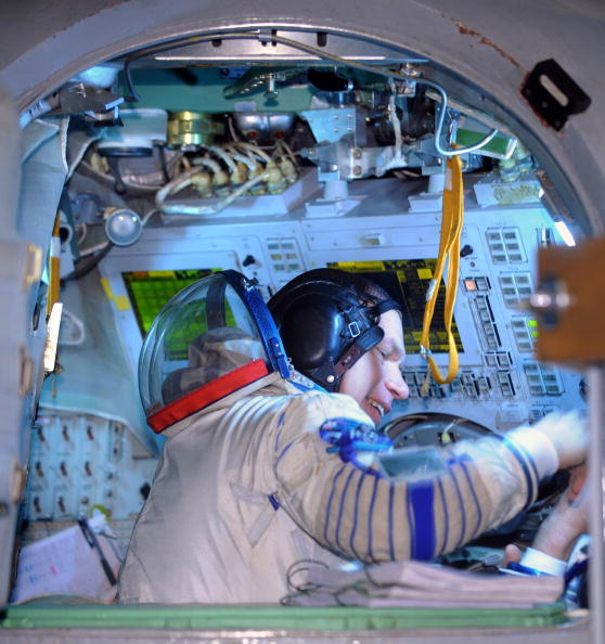 «Союз ТМА-15». Фото: ALEXANDER NEMENOV/AFP/Getty Images