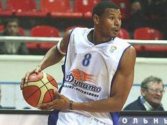 Баскетболист сборной России Келли Маккарти. Фото с eurobasket2009.org