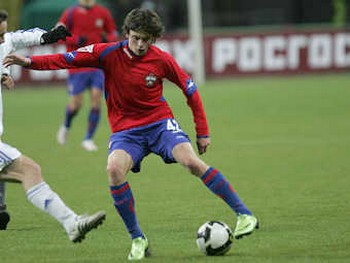 Георгий Щенников. Фото с официального сайта ЦСКА