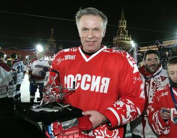 Вячеслав Фетисов включен в состав ЦСКА. Фото: TATYANA MAKEYEVA/AFP/Getty Images