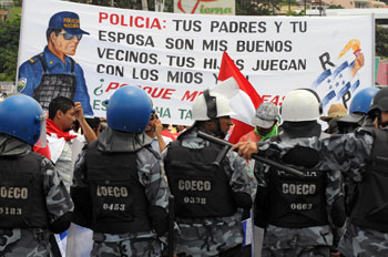 Переворот в Гондурасе. Фото: ORLANDO SIERRA/Getty Images