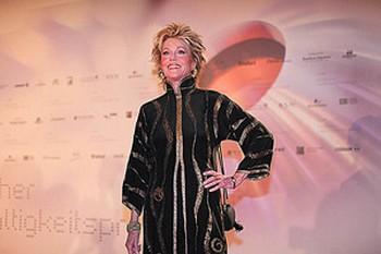 Специальный приз за особые заслуги получила американская актриса и миротворец Джейн Фонда. Фото: Christian Lietzmann