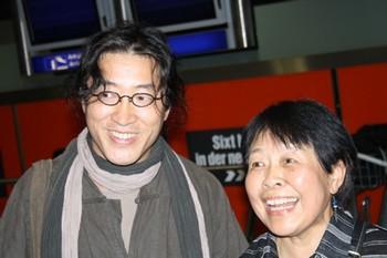 Китайские писатели Бэй Лин и Дай Цин. Фото: The Epoch Times