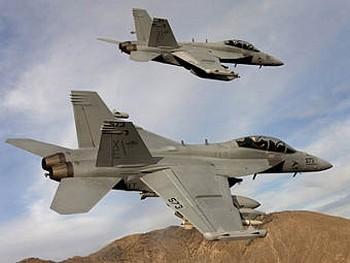 EA-18G. Фото пресс-службы Boeing