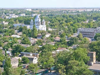Вид на Джанкой. Фото пользователя napalme с panoramio.com
