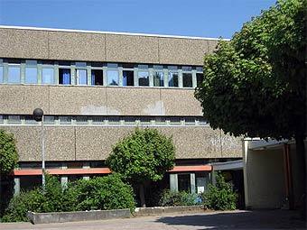 Здание школы имени Петера-Петерсона в Гамбурге. Фото пользователя willander с panoramio.com