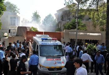 Все представительства ООН в Пакистане будут временно закрыты. Фото: FAROOQ NAEEM/AFP/Getty Images