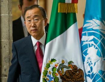 Генсек ООН призвал мир к существованию без ядерного оружия. Фото: Ronaldo Schemidt/AFP/Getty Images