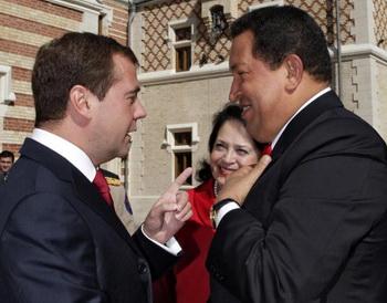 Российско-венесуэльские отношения вышли на новый уровень. Фото: DMITRY ASTAKHOV/AFP/Getty Images