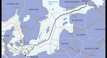 Карта Nord Stream. Фото: с сайта  ru.delfi.lt