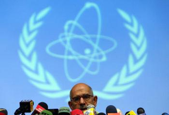 Главы МАГАТЭ Мухаммед аль-Барадей. Фото: ATTA KENARE/AFP/Getty Images