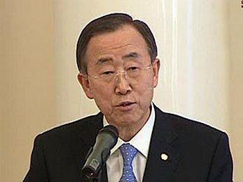 Генеральный секретарь ООН Пан Ги Мун, Фото с сайта Вести.ру