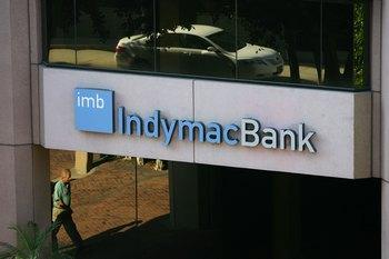 Финансовая корпорация IndyMac Bank.  Фото: David McNew/Getty Images