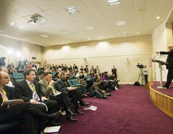 Саммит глав финансовых ведомств государств, формирующих группу самых крупных экономик мира - G20, прошел в шотландском городе Сент-Эндрюсе. Фото: Derek Blair/AFP/Getty Images