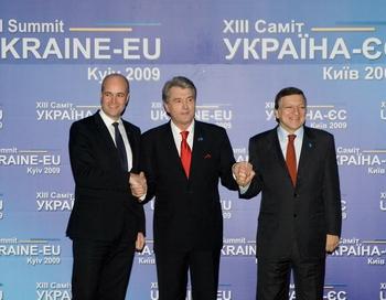 """Евросоюз призвал Украину """"быть надежным партнёром в том, что касается поставок российского природного газа"""". Фото: MYSHKO MARKIV/AFP/Getty Images)"""