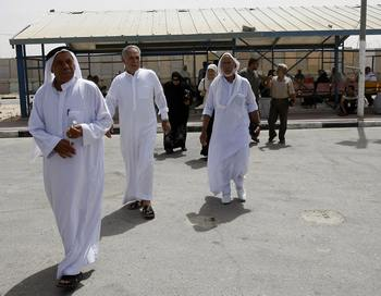 Египетского городок Рафах. Фото: SAID KHATIB/AFP/Getty Image