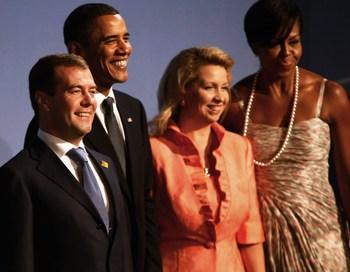 В понедельник в Женеве начался очередной раунд российско-американских переговоров по СНВ.Фото: John Moore/Getty Images
