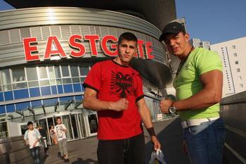 Иммигранты из Албании, проживают в Германии 15 лет. Фото:  Sean Gallup/Getty Images