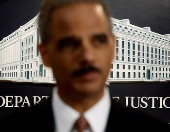 Генеральный прокурор США Эрик Холдер.Фото: Chip Somodevilla/Getty Images