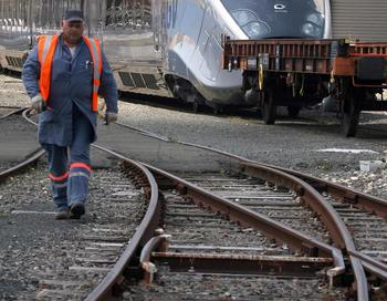 В последние месяцы в Турции произошёл ряд инцидентов на железной дороге. Фото: XAVIER LEOTY/AFP/Getty Images