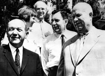 В посольстве СССР в Америке, август 1963 год. Фото: AFP/Getty Images