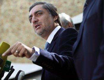 Абдулла Абдулла выдвинул ряд требований, необходимых, по его мнению, для проведения справедливых выборов.  Фото: Majid/Getty Images