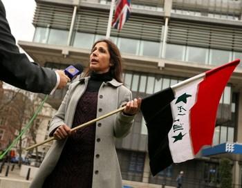 Протест против войны в Ираке в Лондоне 24 ноября.. Фото:  Oli Scarff/Getty Images
